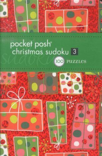 Pocket posh christmas sudoku 3 - 100 puzzles