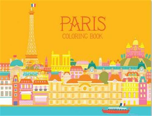 Min heo paris coloring book