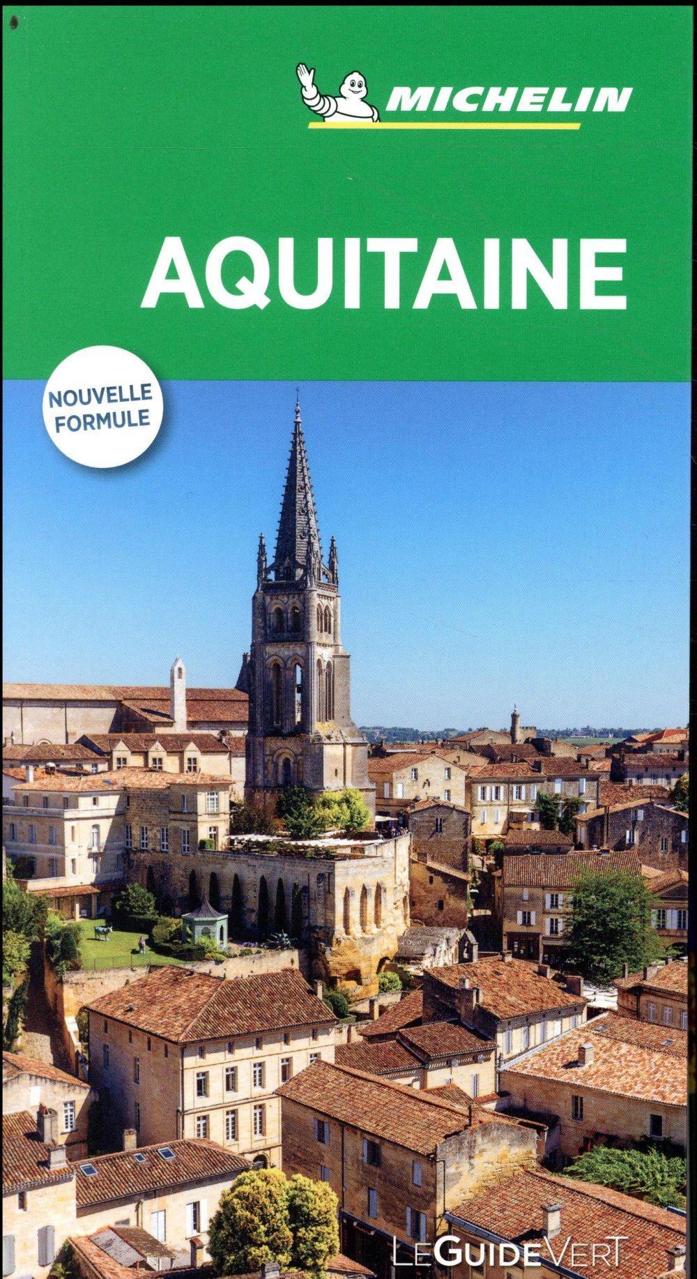 Le guide vert ; Aquitaine