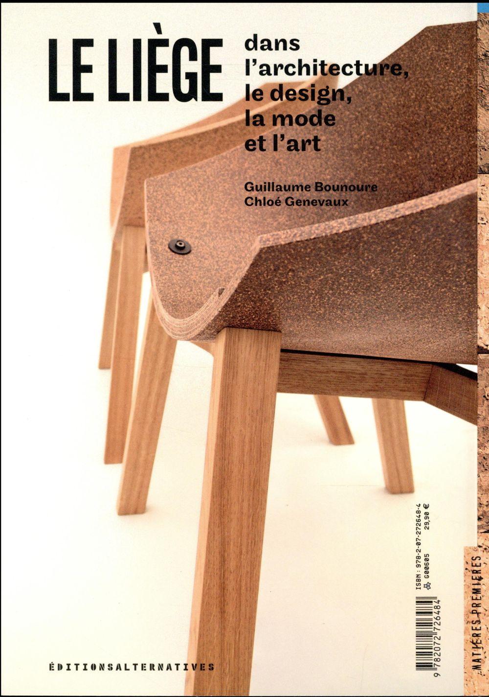 Le liège dans le design, l'architecture, la mode et l'art