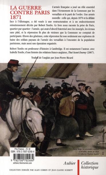 la guerre contre Paris 1871