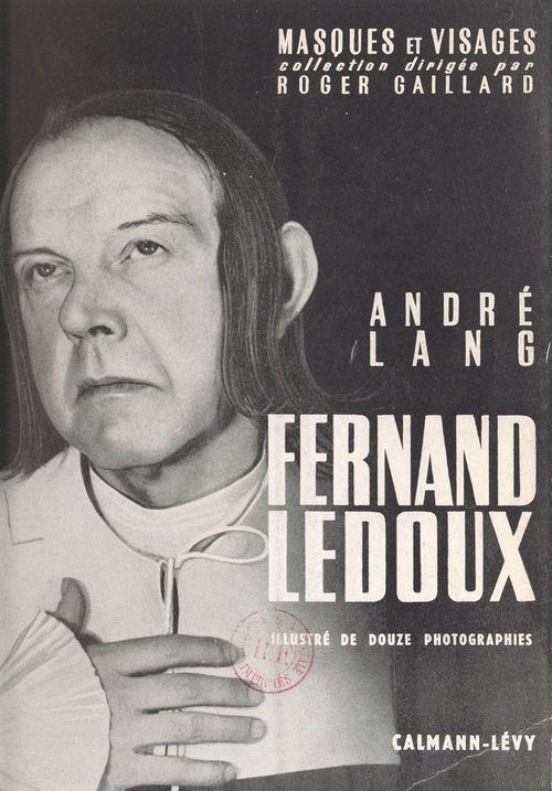 Fernand Ledoux  - André Lang