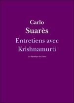 Vente Livre Numérique : Entretiens avec Krishnamurti  - Jiddu Krishnamurti