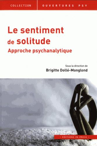 Le sentiment de solitude ; approche psychanalytique