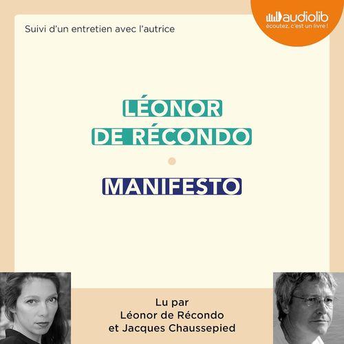 Manifesto ; entretien avec l'autrice