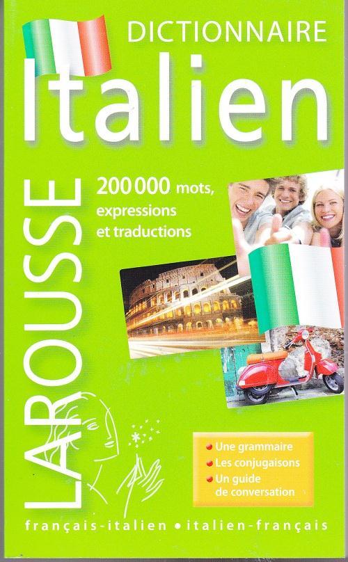Dictionnaire Larousse De Poche ; Francais-Italien / Italien-Francais