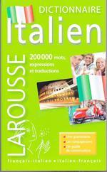 Couverture de Dictionnaire larousse de poche ; français-italien / italien-français