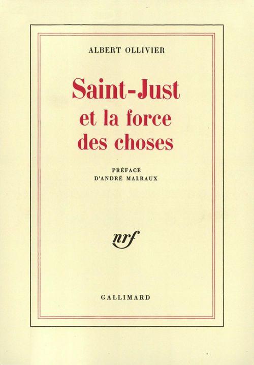 Saint-Just et la force des choses
