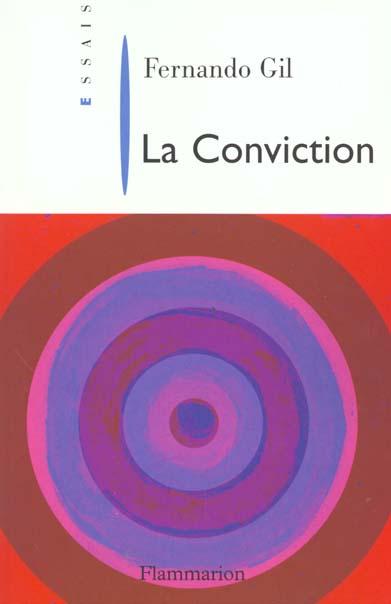 La conviction
