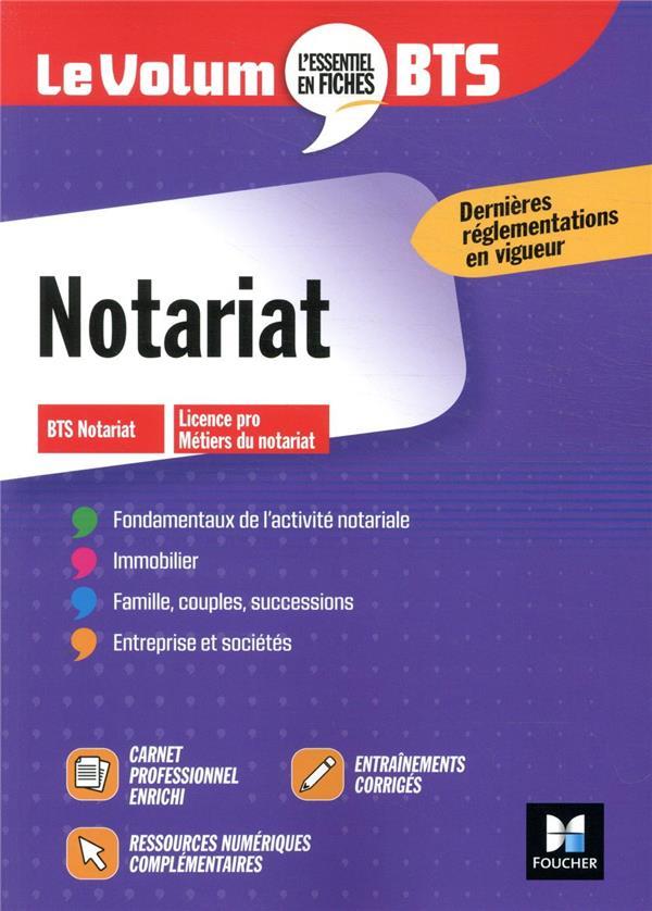 Le Volum Notariat Bts Collectif Foucher Grand Format Le Livre En Fete Figeac