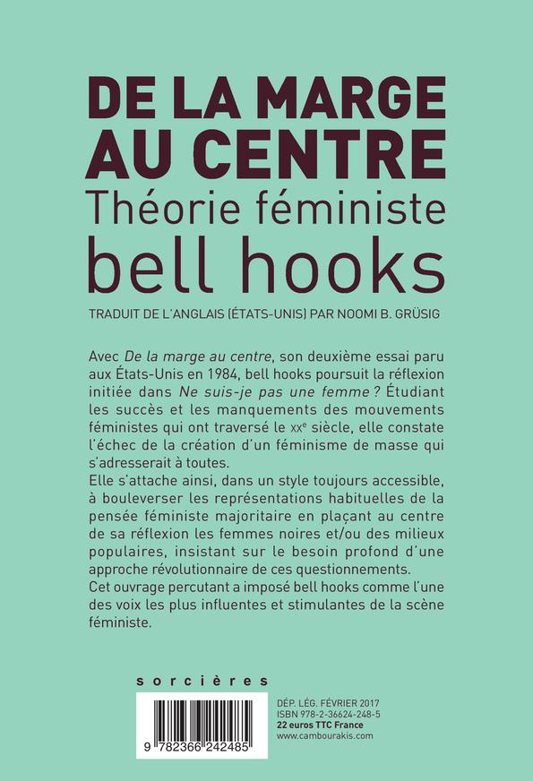 de la marge au centre ; théorie feministe