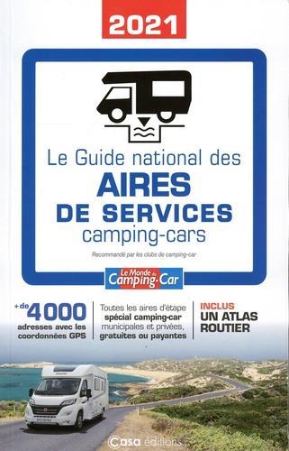 le guide national des aires de services camping-cars (édition 2021)