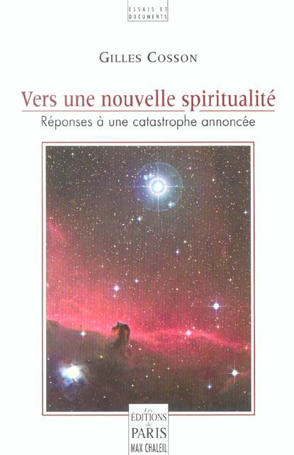 Vers une nouvelle spiritualite