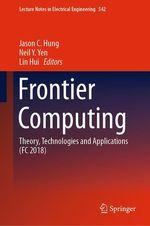 Frontier Computing  - Neil Y. Yen - Lin Hui - Jason C Hung