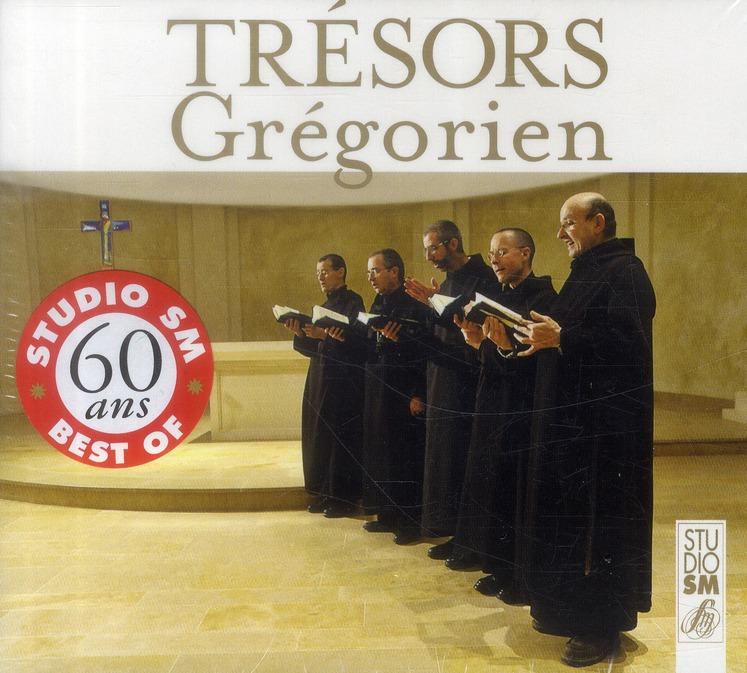 LES TRESORS DE STUDIO SM - GREGORIEN - AUDIO
