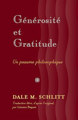 Generosite et la gratitude
