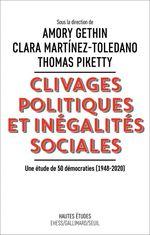Vente EBooks : Clivages politiques et inégalités sociales  - Thomas Piketty - Clara Martinez-Toledano - Amory Gethin