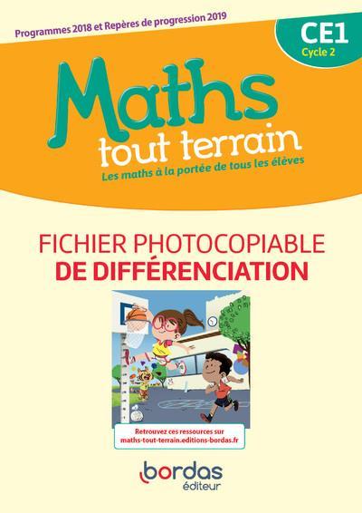 MATHS TOUT TERRAIN ; CE1 ; fichier de différenciation (édition 2020)