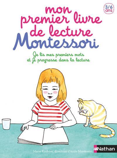 Mon premier livre de lecture Montessori ; 3/6 ans