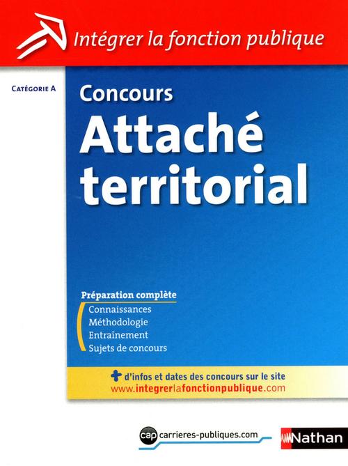 Concours attaché territorial ; catégorie A ; 2011