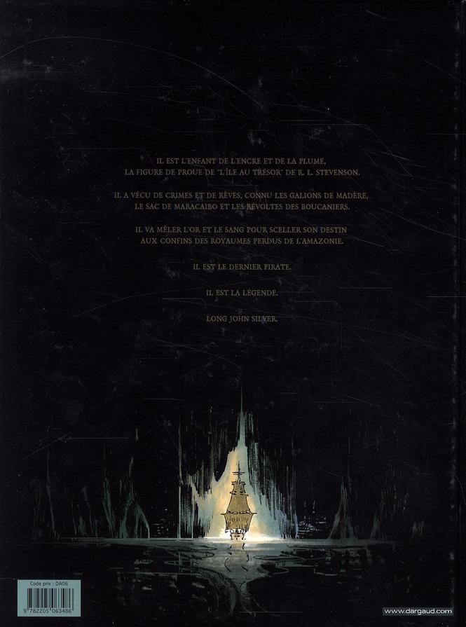 Long John Silver T.3 ; le labyrinthe d'émeraude