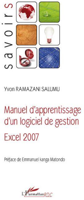 Manuel D'Apprentissage D'Un Logiciel De Gestion, Excel 2007