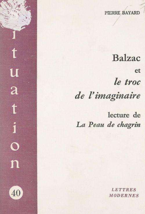 Balzac et le troc de l'imaginaire