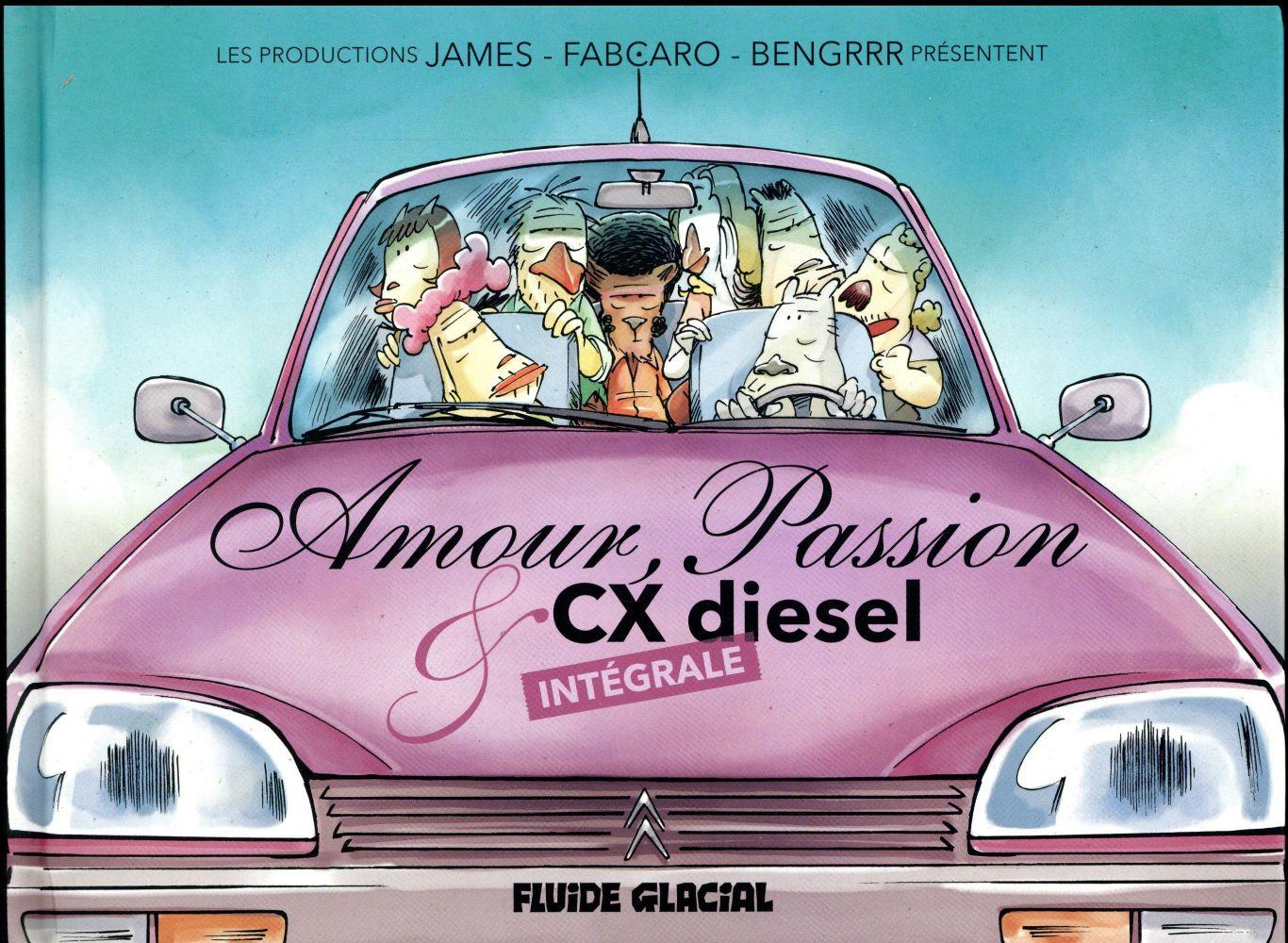 Amour passion et CX diesel ; intégrale