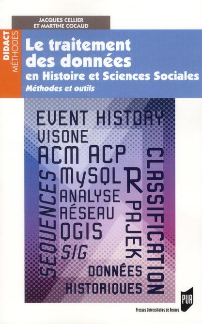 Traitement des données en histoire et sciences sociales