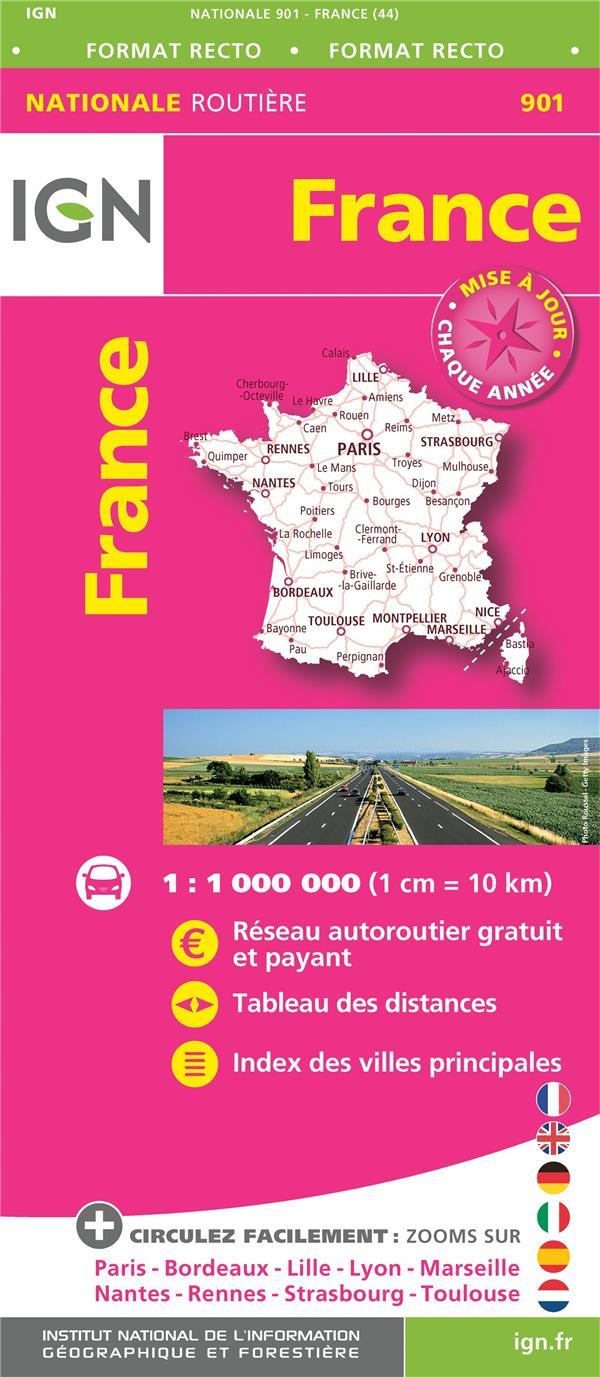 France routière maxiformat (édition 2017)