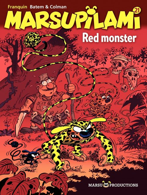 Marsupilami T.21 ; red monster
