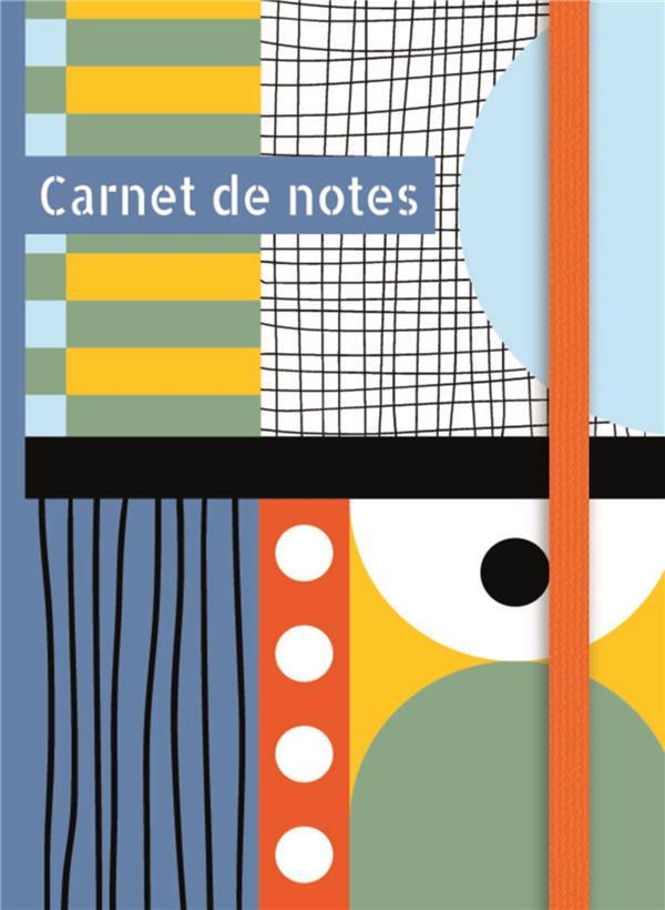 Carnet de notes (petit) - multicolore