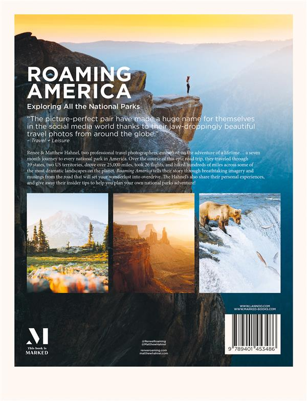 roaming America : exploring all the US national parks