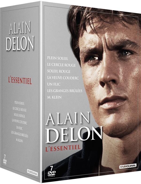 Alain Delon - L'essentiel : Plein soleil + Le Cercle rouge + Soleil rouge + La Veuve Couderc + Un flic + Les Granges brûlées + M. Klein