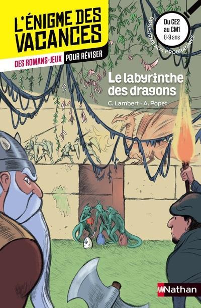 L'ENIGME DES VACANCES PRIMAIRE T.7 ; le labyrinthe des dragons ; du CE2 au CM1 ; 8/9 ans