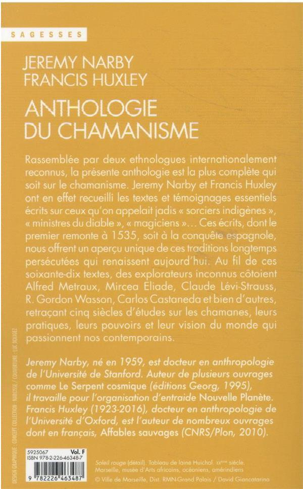 anthologie du chamanisme