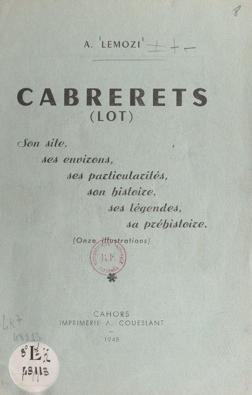 Cabrerets (Lot)