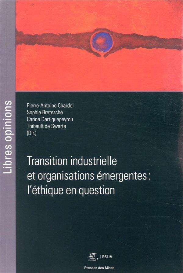 Transition industrielle et organisations émergentes : l'éthique en question