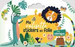 Ma valisette stickers en folie ; animaux