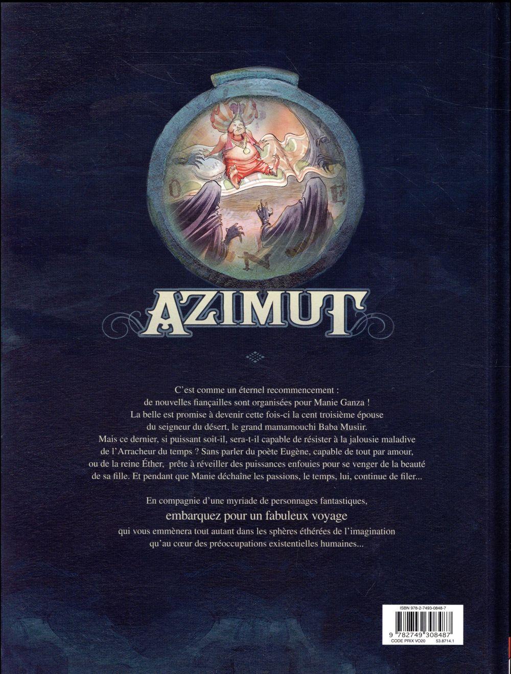 Azimut t.4 ; nuées noires, voile blanc