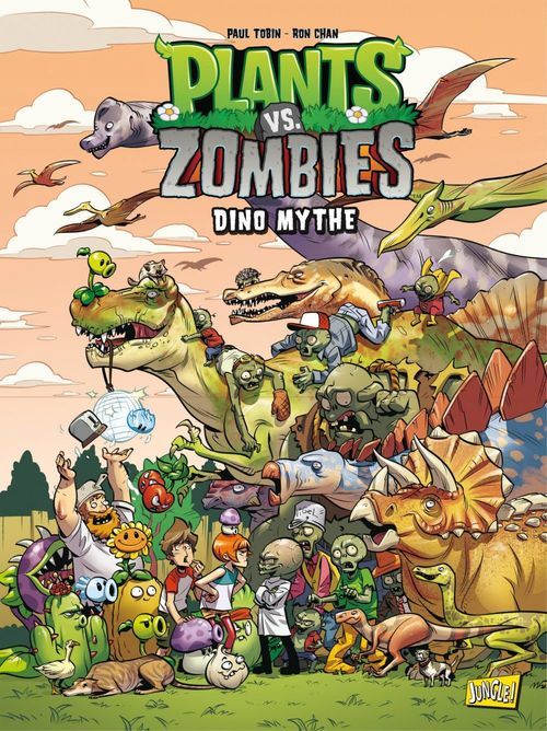 Plants vs zombies T.12 ; dino mythe