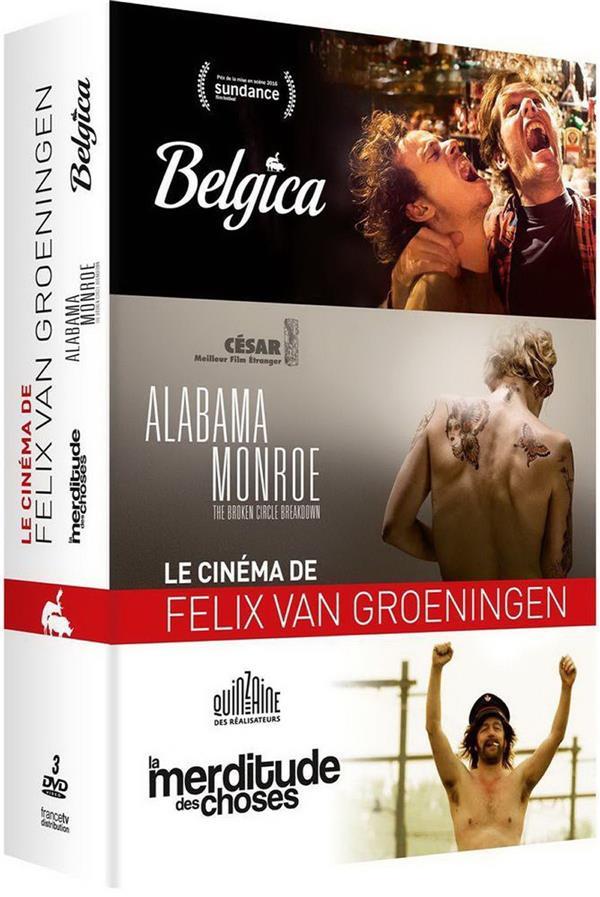 Felix van Groeningen - Coffret: Belgica + Alabama Monroe + La merditude des choses