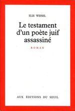 Vente EBooks : Le Testament d'un poète juif assassiné  - Élie Wiesel