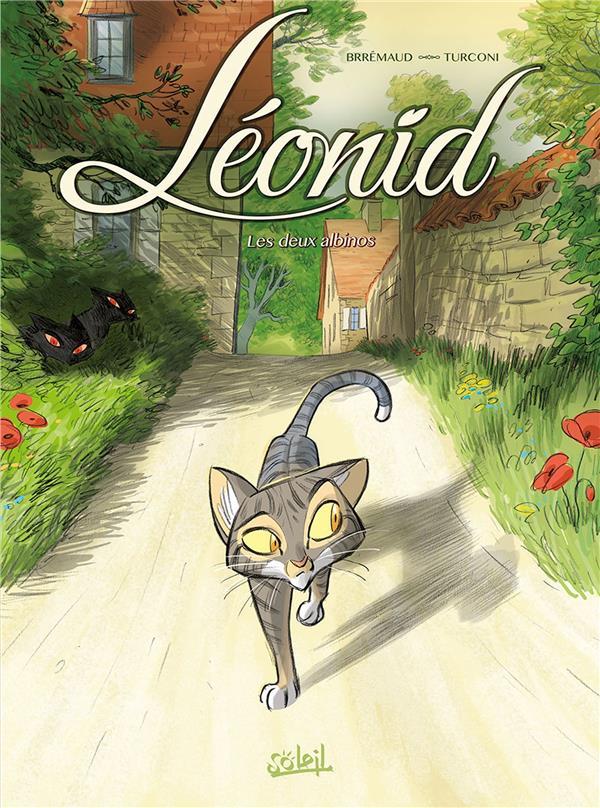 Léonid, les aventures d'un chat t.1 ; les deux albinos
