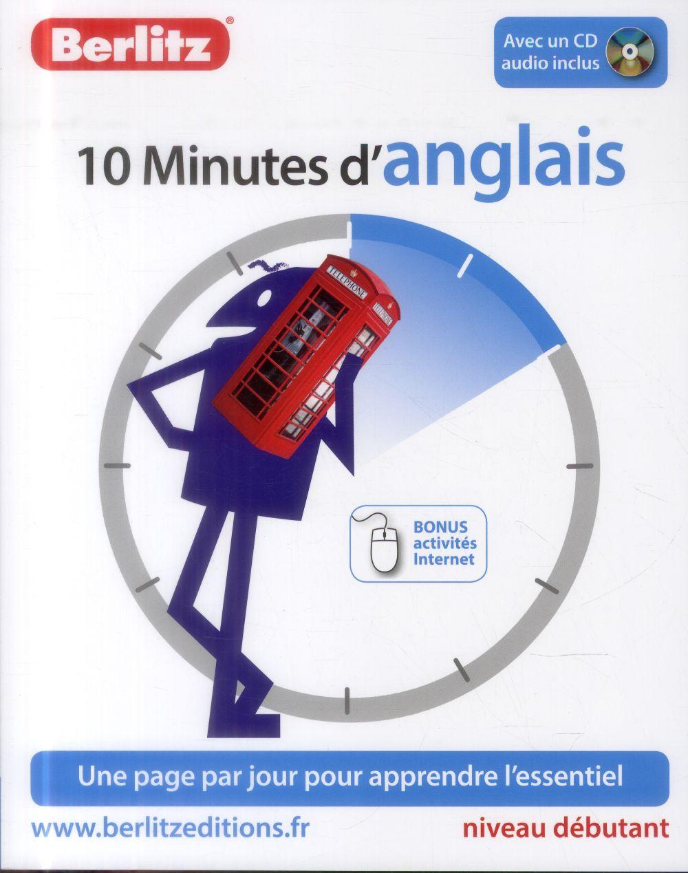 10 Minutes D'Anglais ; Niveau Debutant