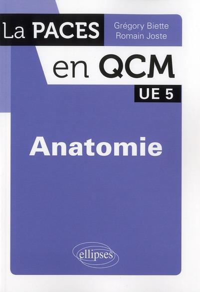 Anatomie ; Ue 5 ; Qcm