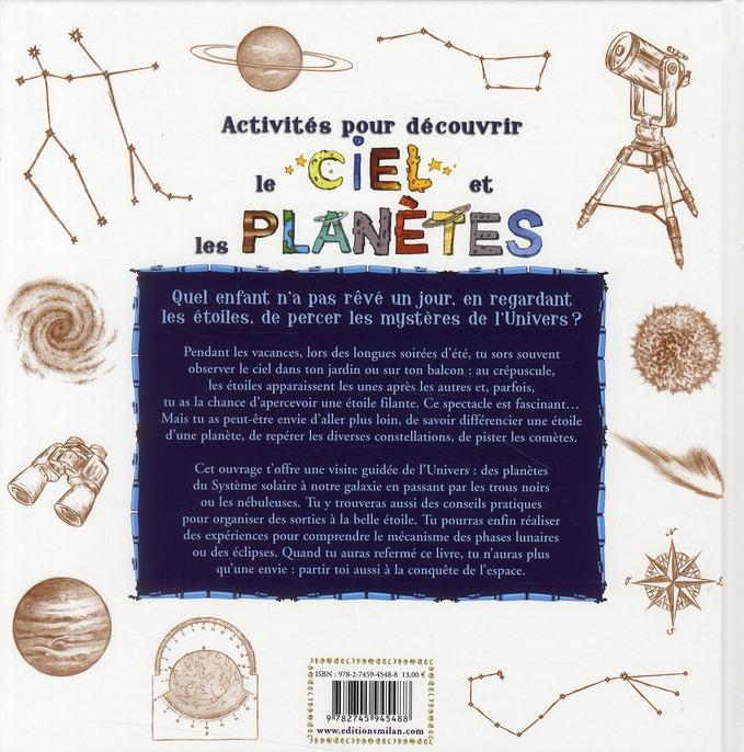 50 activités pour découvrir le ciel et les planètes
