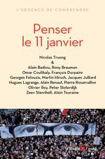 Vente EBooks : Penser le 11 janvier  - Nicolas TRUONG - Collectif