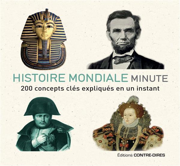 HISTOIRE DU MONDE MINUTE  -  200 CONCEPTS CLES EXPLIQUES EN UN INSTANT
