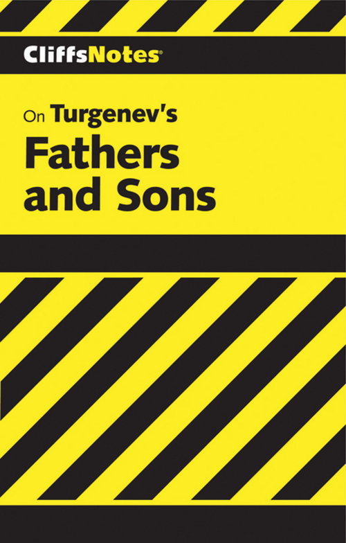 CliffsNotes on Turgenev's Fathers and Sons